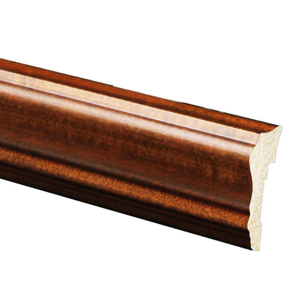 Ordinaire Inteplast Building Products 5/8 In. X 2 5/8 In. X 96 In. Polystyrene  Mahogany Chair Rail Moulding (5 Pack) 8390080035605   The Home Depot