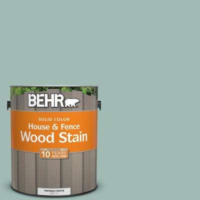 1 gal. #S430-3 Garden Twilight Solid House and Fence Exterior Wood Stain