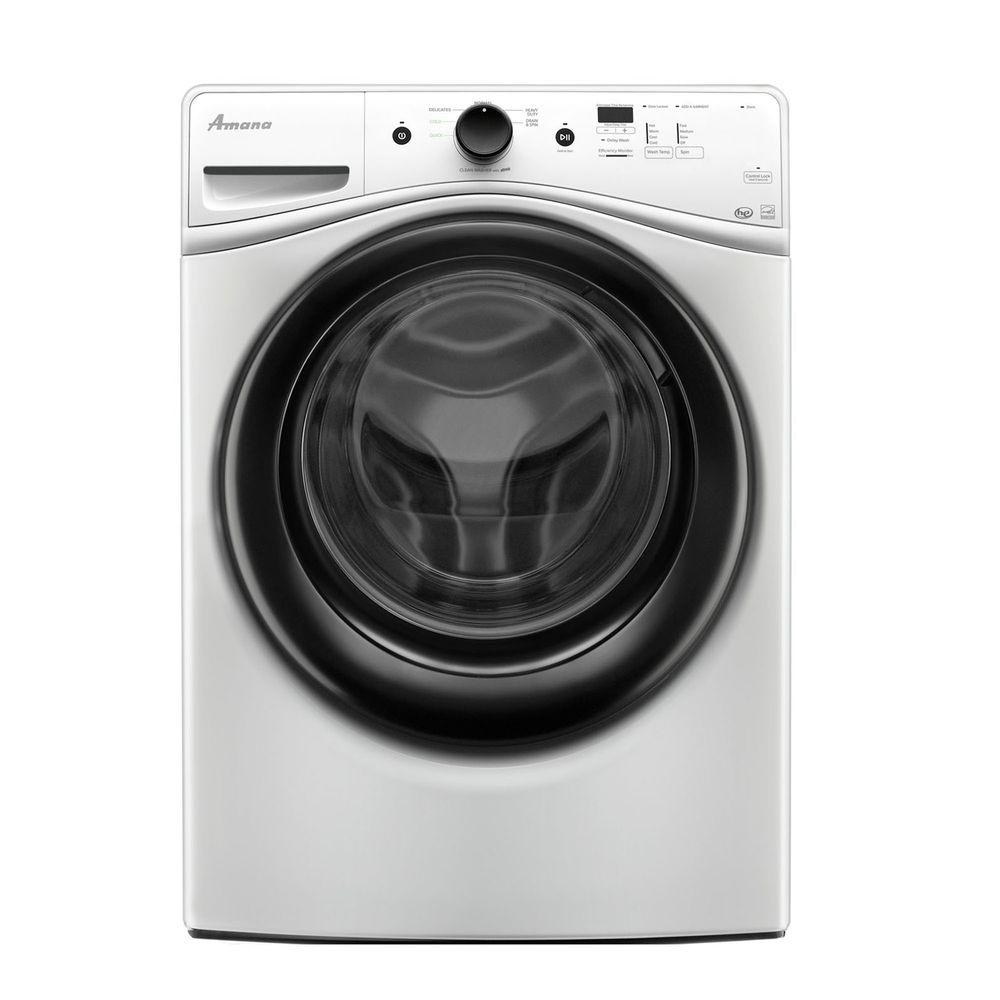 Amana 4.1 cu. ft. High-Efficiency Front Load Washer in White, ENERGY STAR
