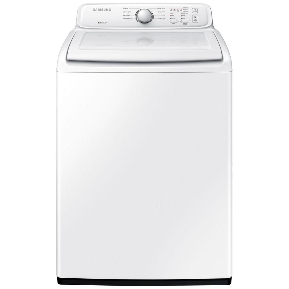 The best top load washer on the market - Top Load Washer In White