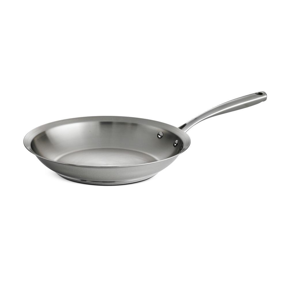 Gourmet Prima 12 in. Stainless Steel Frying Pan