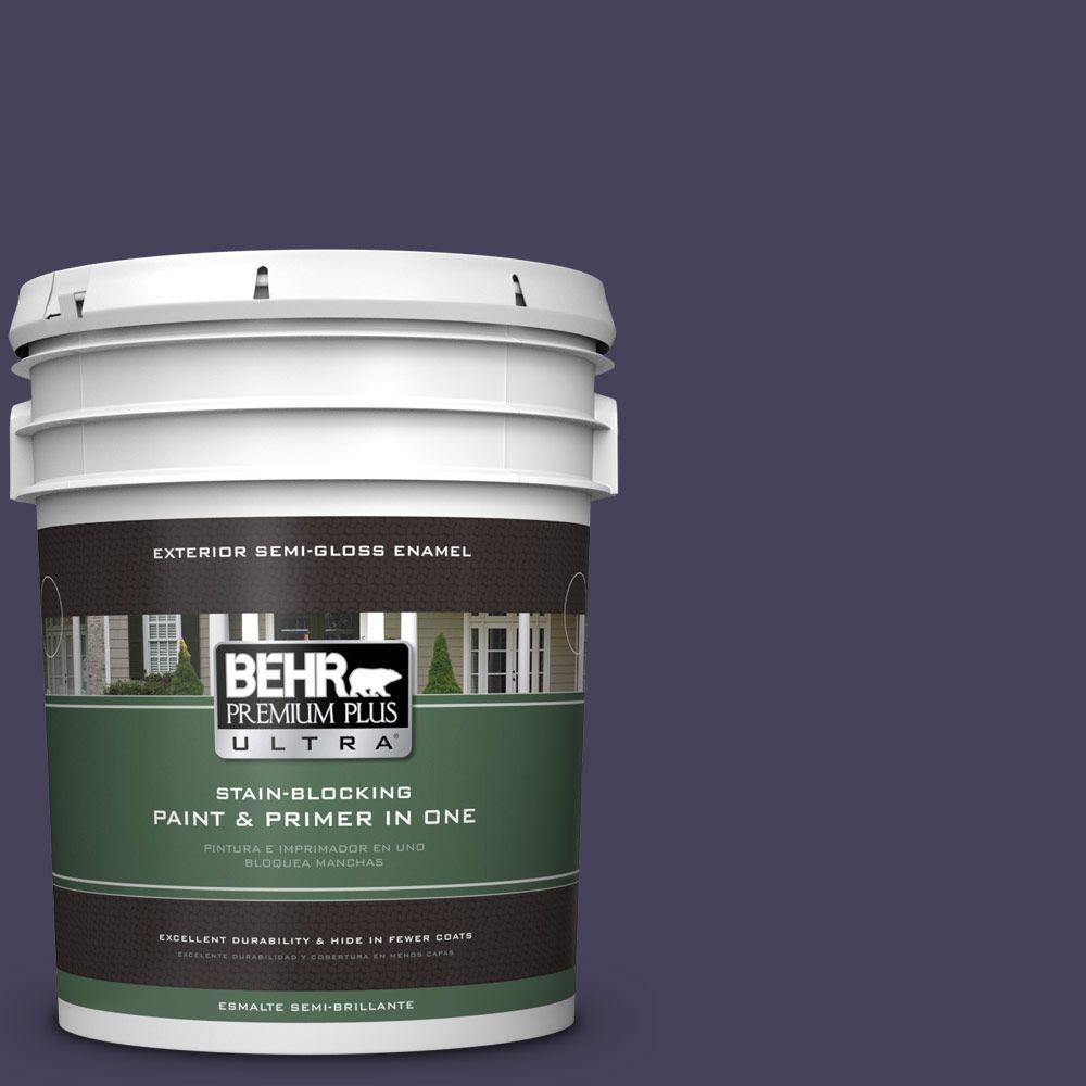 5-gal. #PPU16-20 Renaissance Semi-Gloss Enamel Exterior Paint