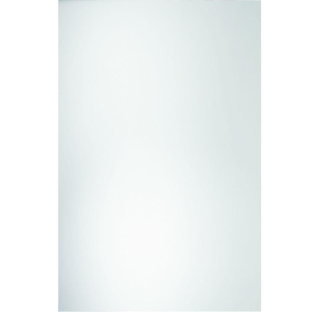 Glacier Bay Miriana 48 in. x 36 in. Polished Edge Traditional Mirror