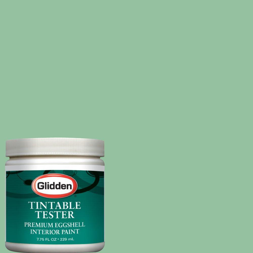 Glidden Premium 8 oz. Sea Glass Green Interior Paint Tester