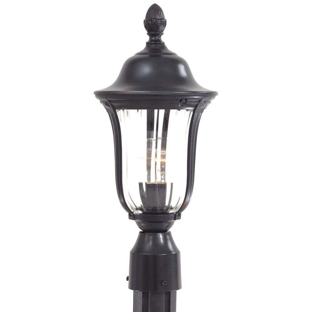 Morgan Park 1-Light Outdoor Heritage Post Lantern