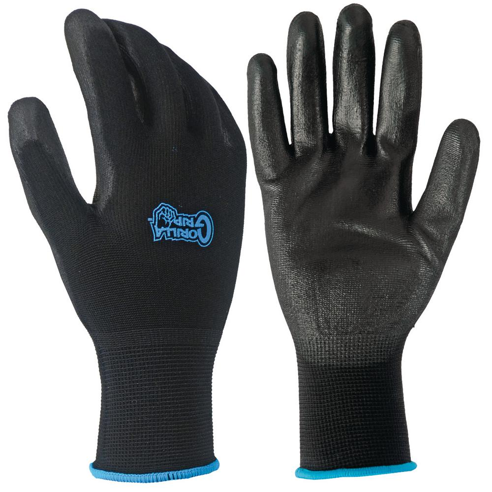 Grease Monkey Large Gorilla Grip Gloves (20-Pair)