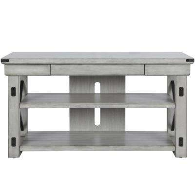 Forest Grove Rustic White 50 in. TV Stand
