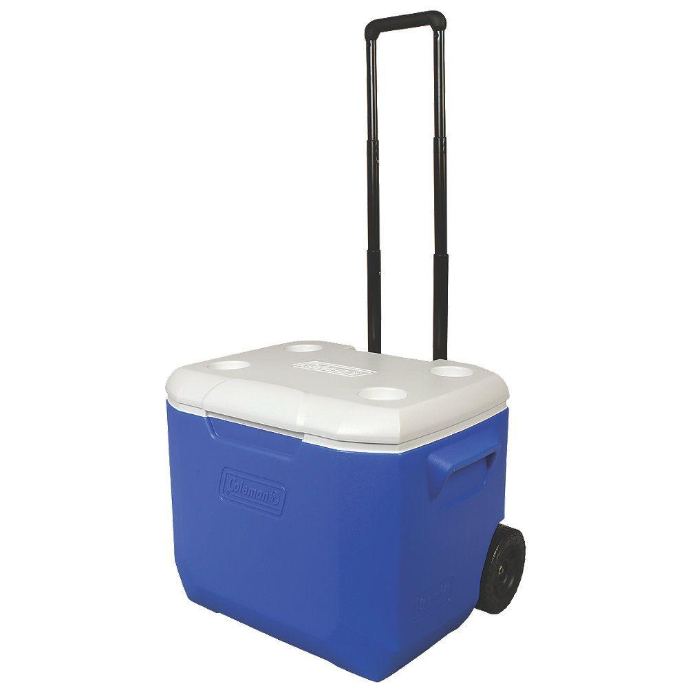60 Qt. Blue Wheeled Performance Cooler