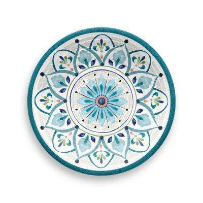 Moroccan Medallion Assorted Salad Plate (Set of 6)