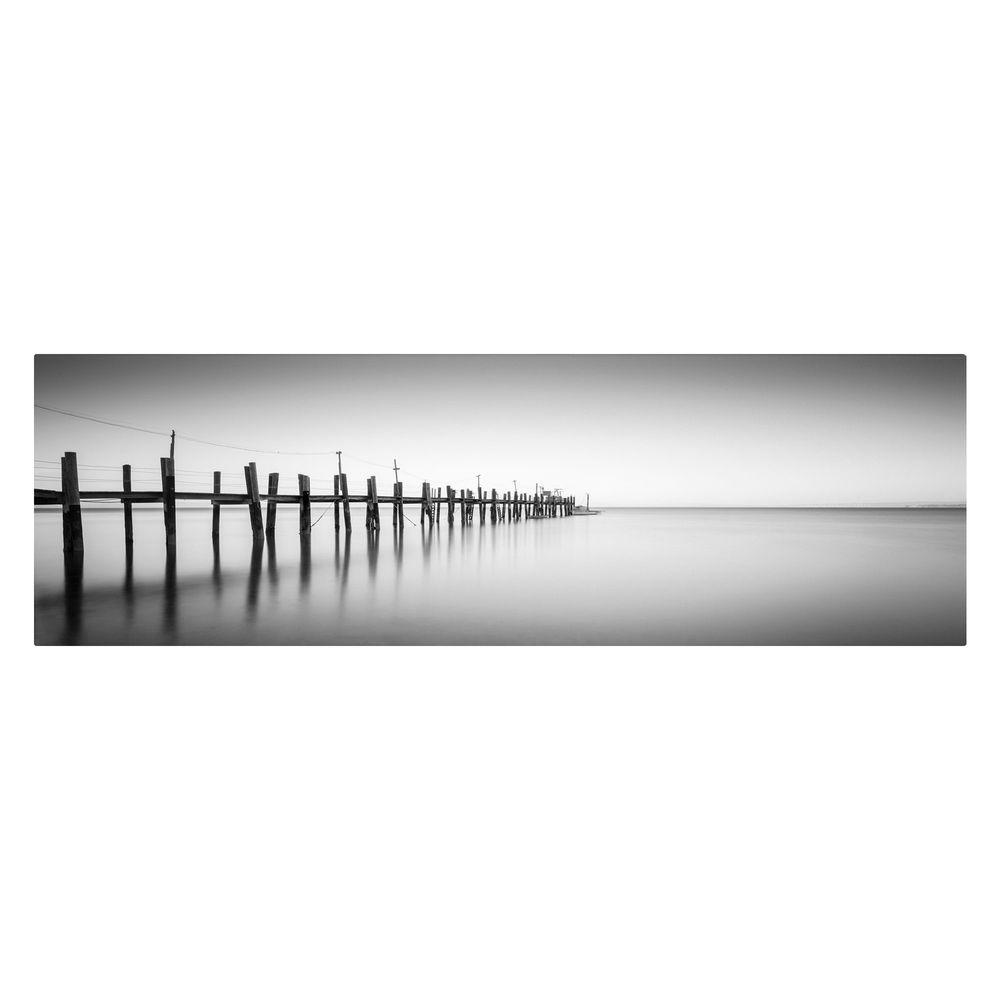 12 in. x 32 in. China Camp Panoramic Canvas Art