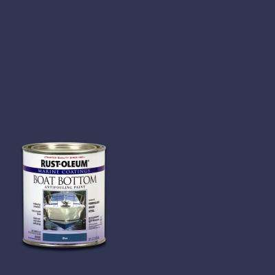 1 qt. Flat Blue Boat Bottom Antifouling Paint (4-Pack)