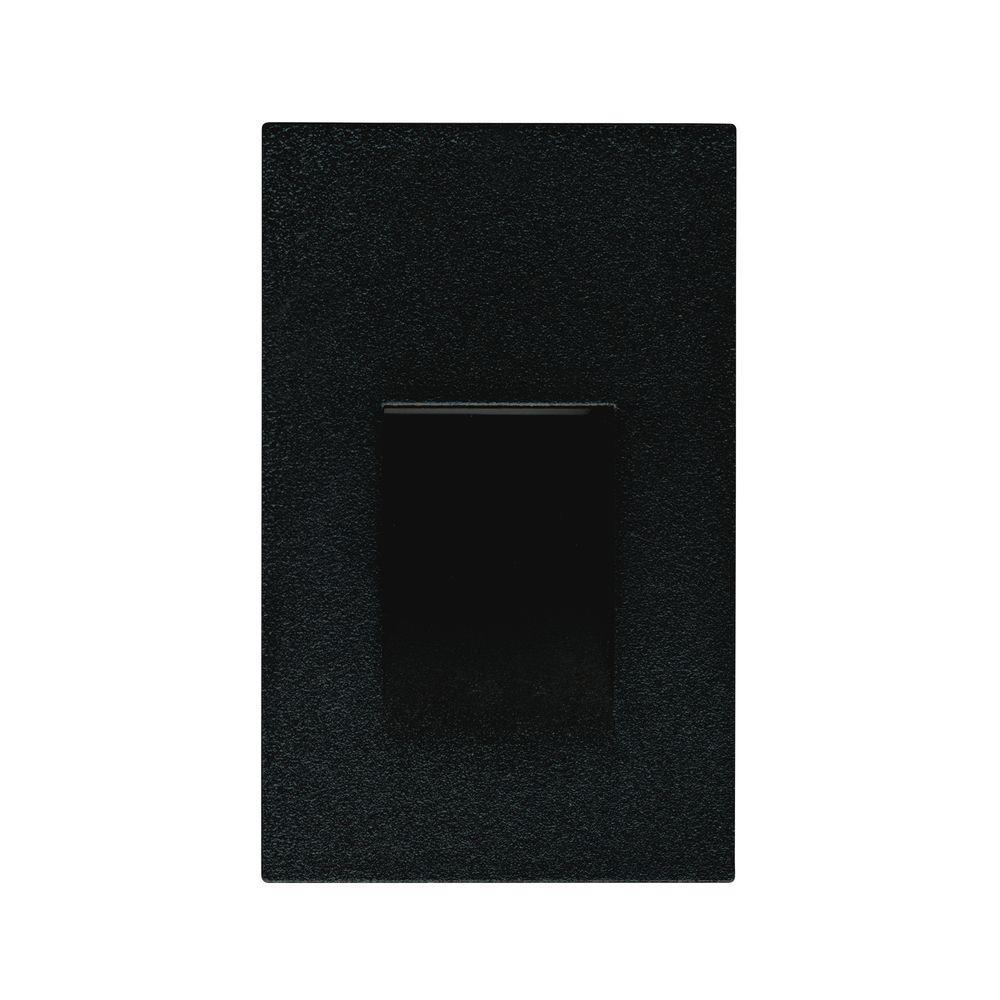 Illume Lighting 3.5-Watt Black LED Step Light