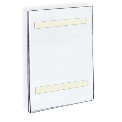 8.5 in. x 14 in. Acrylic Clear Wall U Frame with Adhesive Tape (10-Pack)