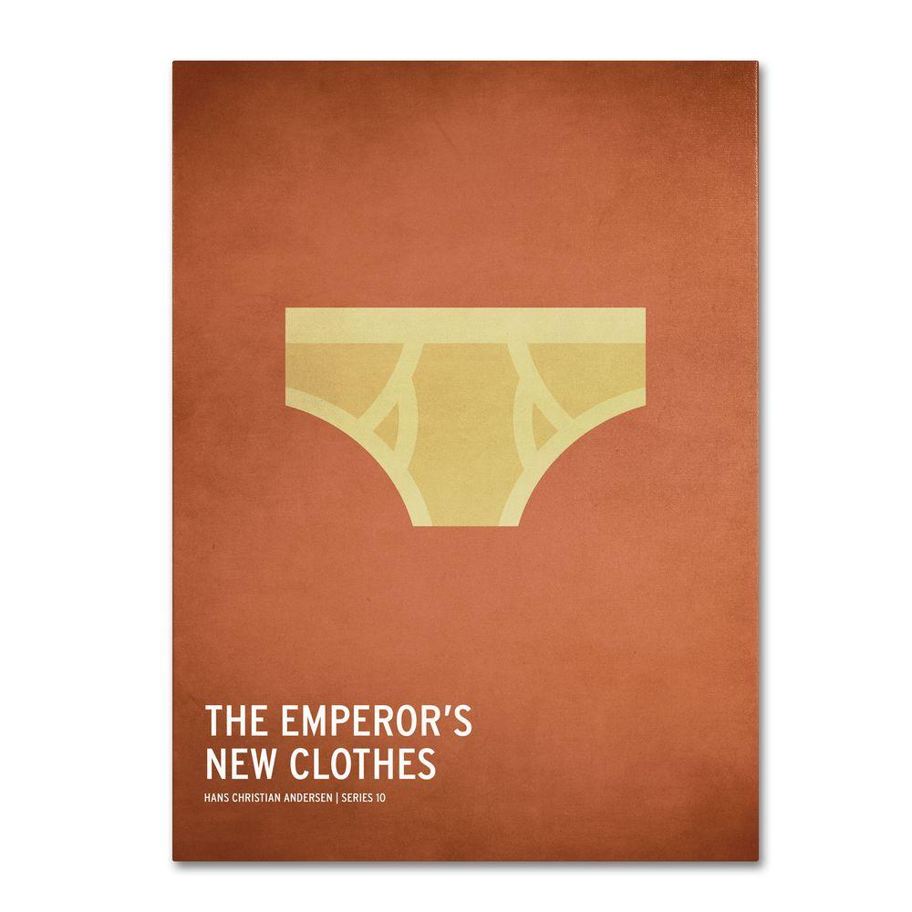 Trademark Fine Art 16 in. x 24 in. Emperor's New Clothes Canvas Art