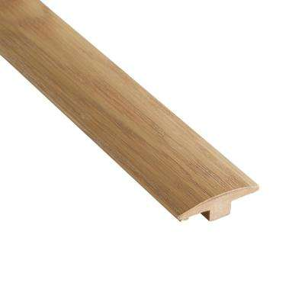 Barrington Oak 3/8 in. Thick x 2 in. Wide x 78 in. Length Hardwood T-Molding