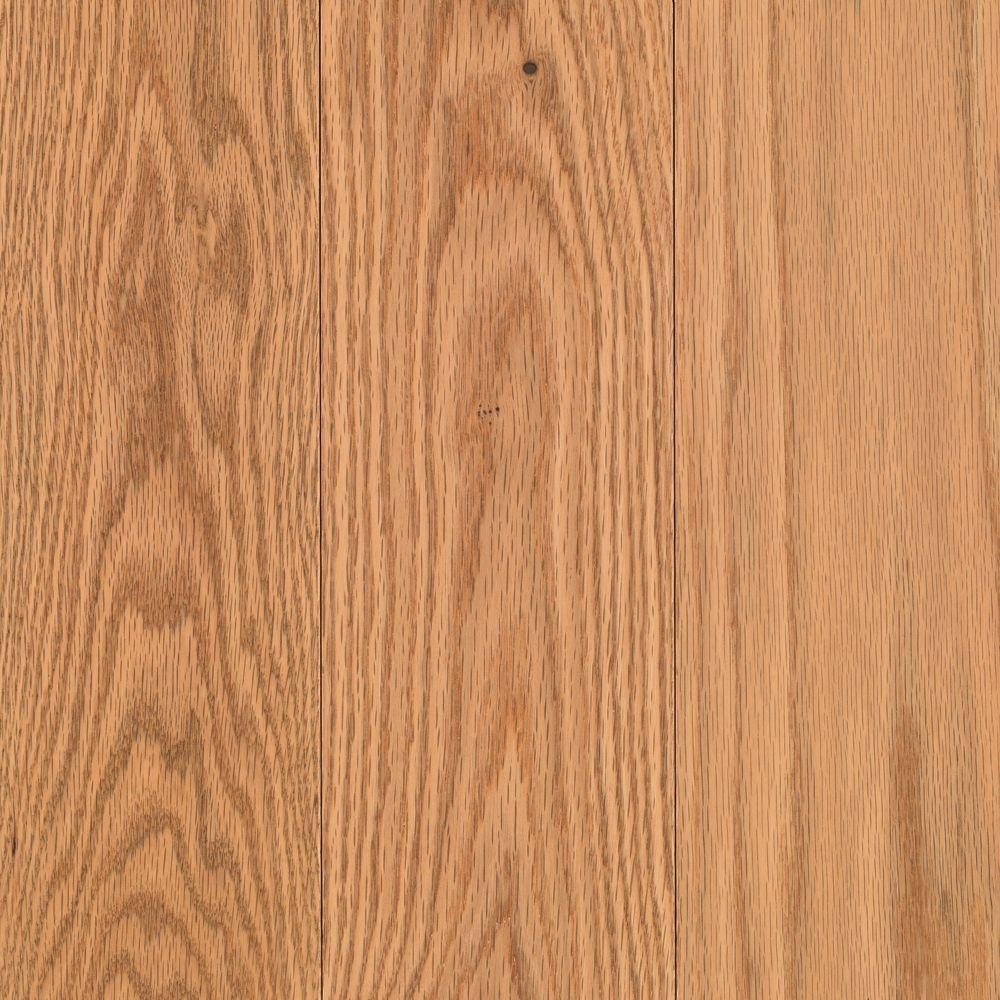 Mohawk raymore red oak natural 3 4 in thick x 5 in wide for Real oak hardwood flooring