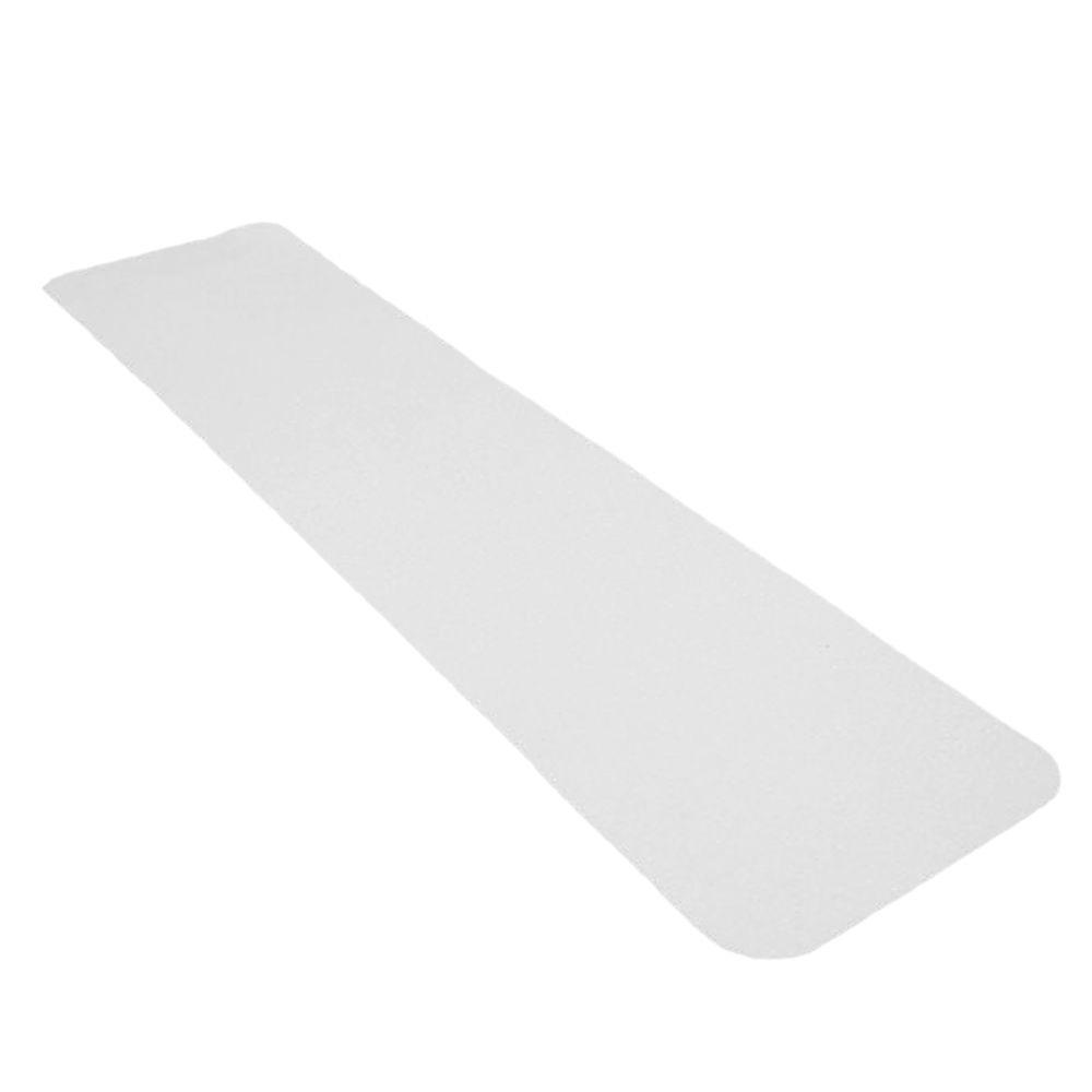 6 in. x 24 in. Clear Vinyl Adhesive Tread (4-Pack)