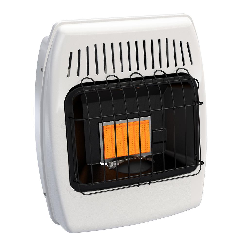 6000 BTU Liquid Propane Infrared Vent Free Wall Heater