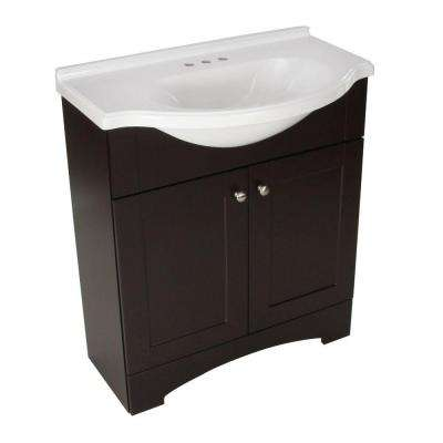 30 inch vanities bathroom vanities bath the home depot. Black Bedroom Furniture Sets. Home Design Ideas