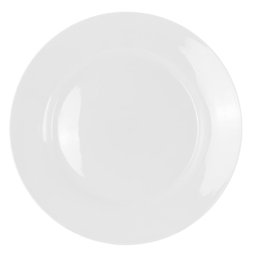 White Gibson Home Noble Court 16 Piece Dinnerware Set