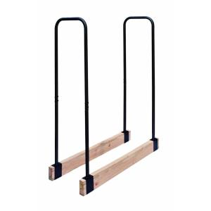 Steel Tube Adjustable Log Rack by
