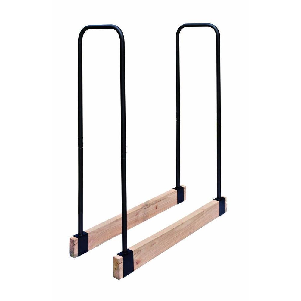 Steel Tube Adjustable Log Rack