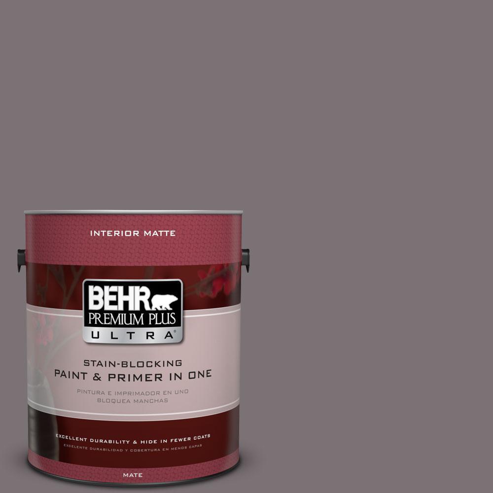 BEHR Premium Plus Ultra 1 gal. #PPU17-18 Echo Flat/Matte Interior Paint