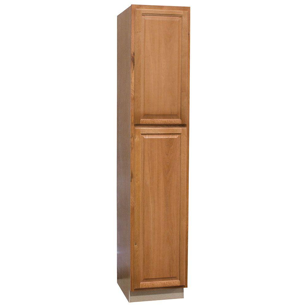 Hampton Bay Assembled 18 x 90 x 24 in. Pantry/Utility Kitchen ...