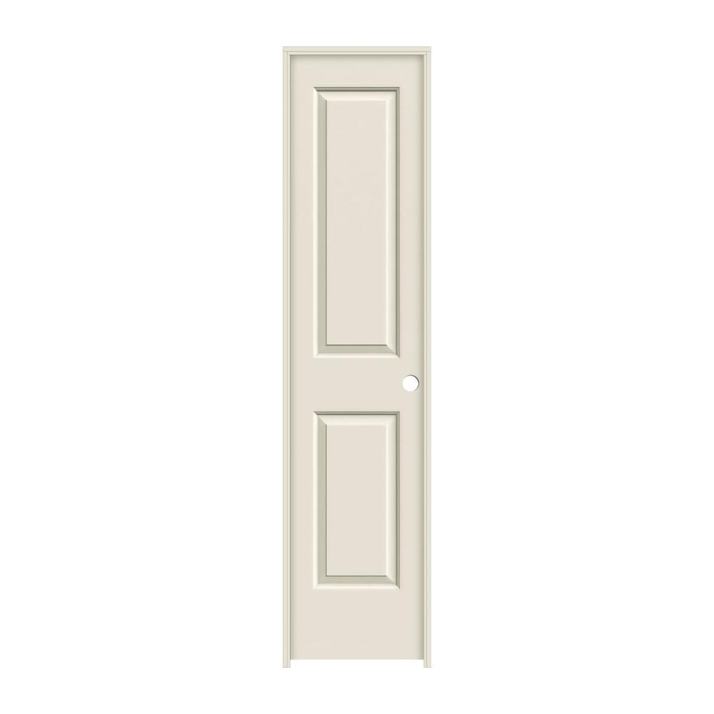 18 in. x 80 in. Cambridge Primed Left-Hand Smooth Solid Core