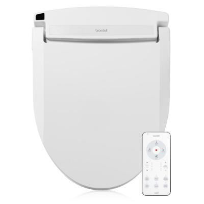Swash Select EM617 Electric Bidet Seat for Elongated Toilets in White with Warm Air Dryer