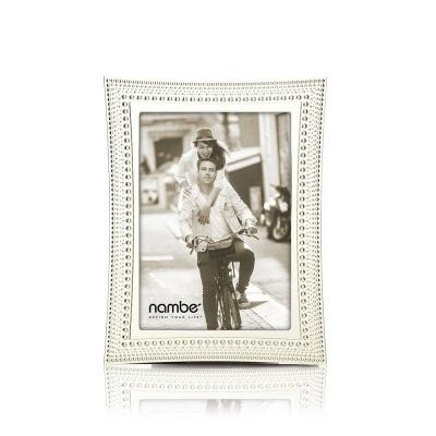 Beaded Metal Picture Frame 5 x 7