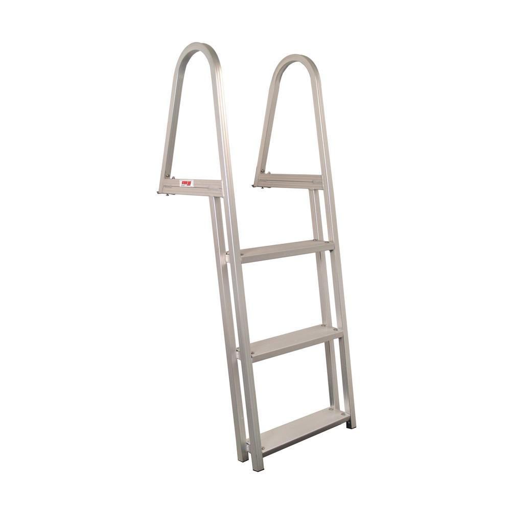 3-Step Aluminum Pontoon/Dock Ladder