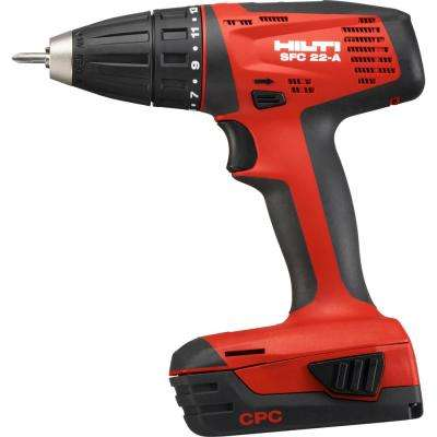 SFC 22-Volt Advanced Compact Battery 1/2 in. Chuck Drill Driver No Bag or Case