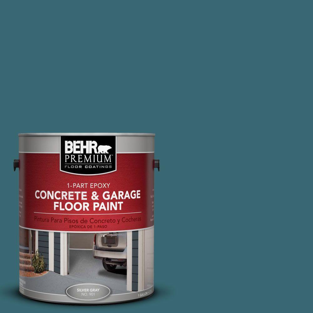 1 gal. #PFC-50 Mon Stylo 1-Part Epoxy Concrete and Garage Floor Paint