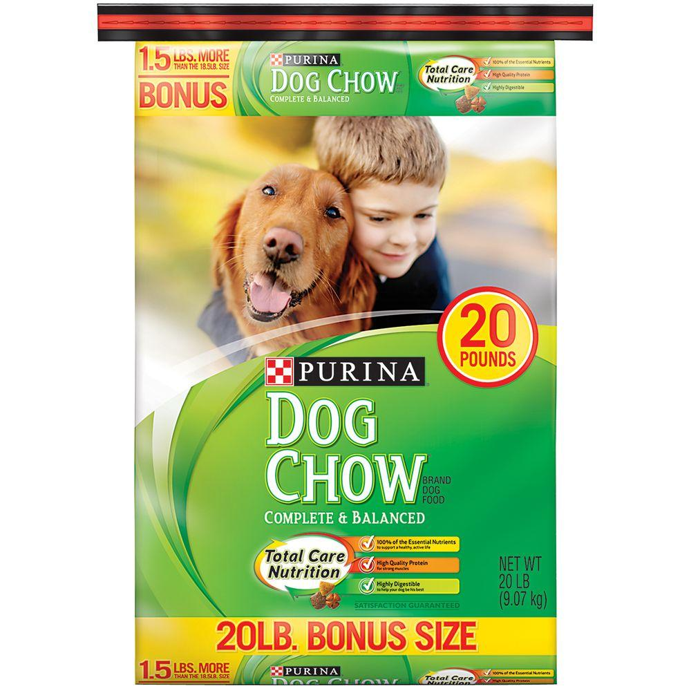 The Home Depot Dog Food