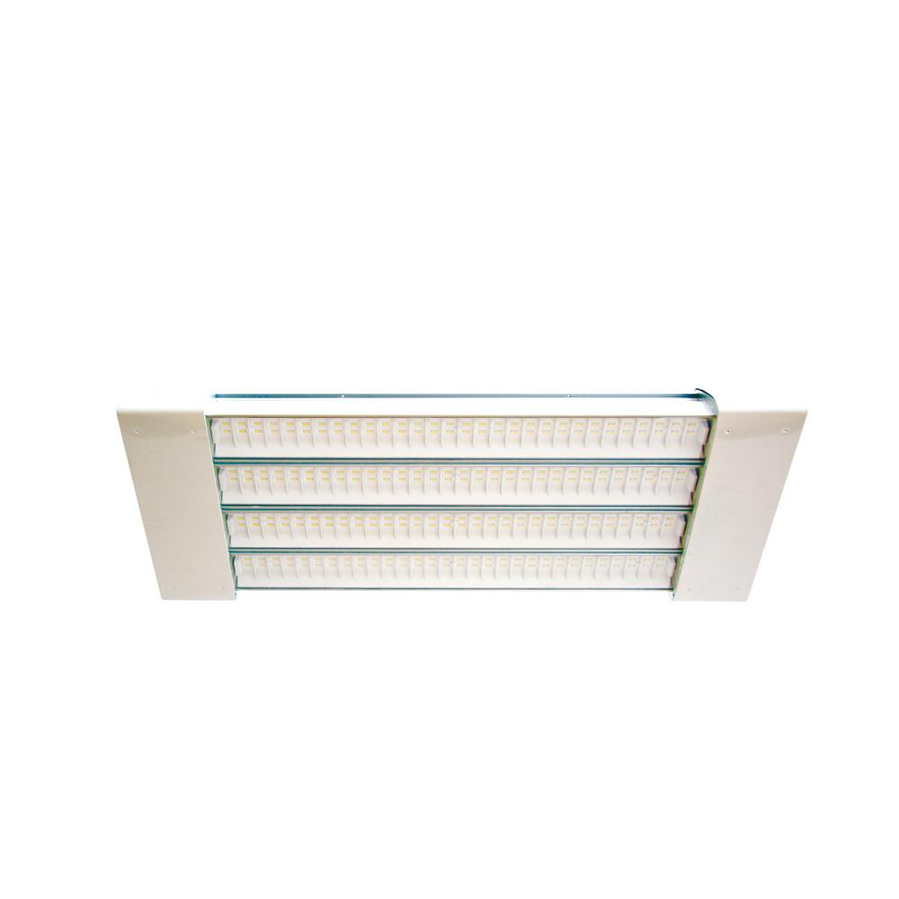 100-Watt 2 ft. White Integrated LED Linear High Bay Fixture with