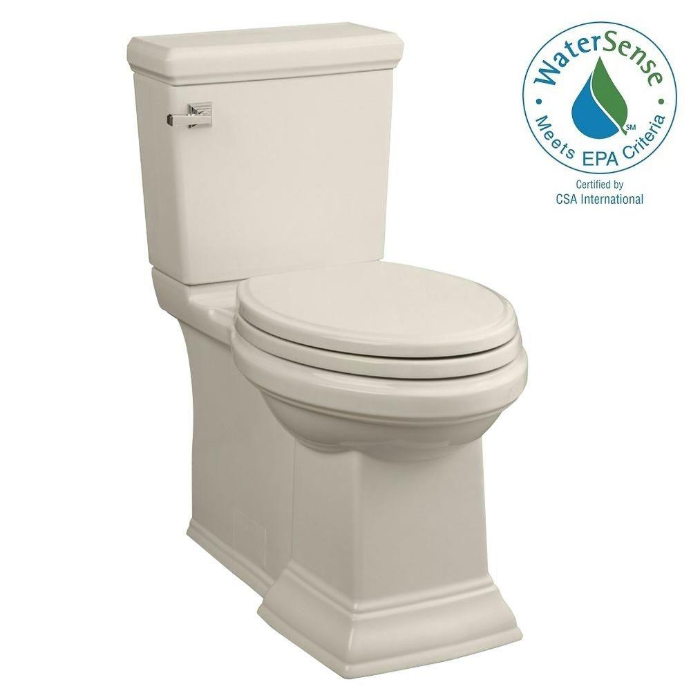 Town Square FloWise 2-piece 1.28 GPF Right Height Elongated Toilet in