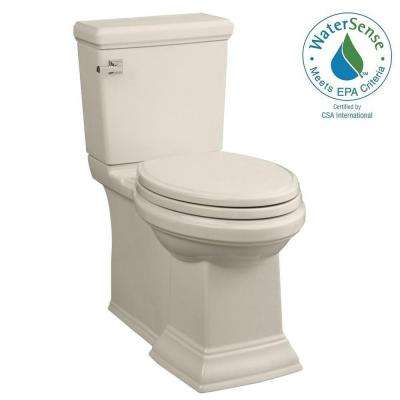 Town Square FloWise 2-piece 1.28 GPF Right Height Elongated Toilet in Linen