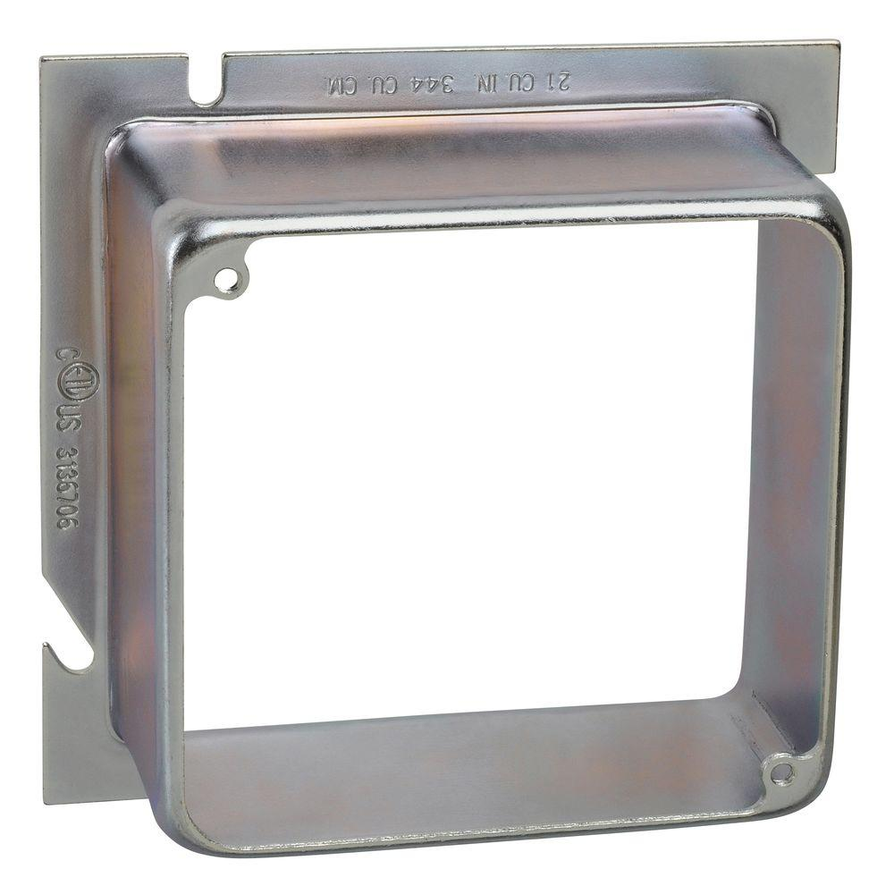 5 in. Square to 4 in. Square EXT Ring 1-1/2 in.