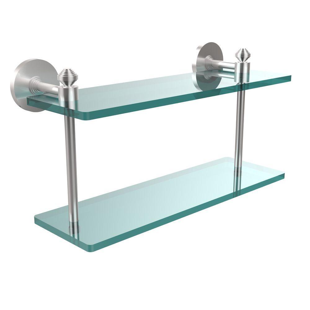Awesome Chrome Glass Shelf Photo - Bathtub Ideas - dilata.info