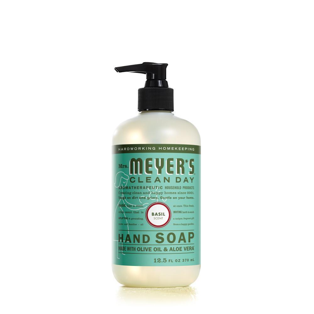 12.5 oz. Basil Scent Liquid Hand Soap