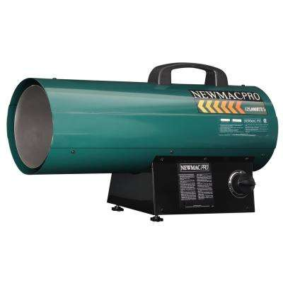 120,000 BTU Forced Air Torpedo Propane Gas Portable Heater