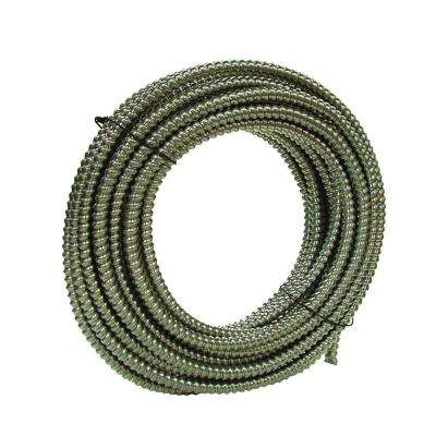 1/2 in. x 100 ft. Glaflex RWS Metallic Armored Steel Flexible Conduit