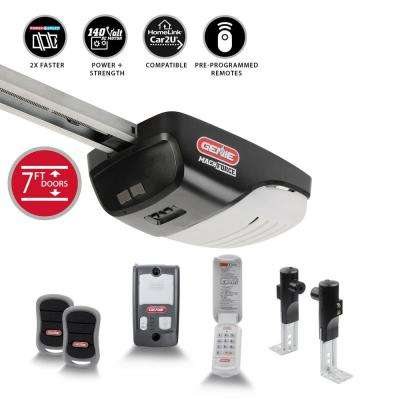 MachForce Plus 2 HP Premium Screw Drive Garage Door Opener Plus Wireless Keypad