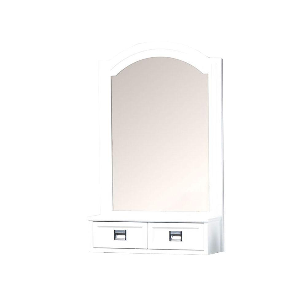 Hayden 30 in. H x 24 in. W Wall Mirror in