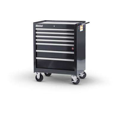 Tech Series 27 in. 7-Drawer Roller Cabinet Tool Chest in Black
