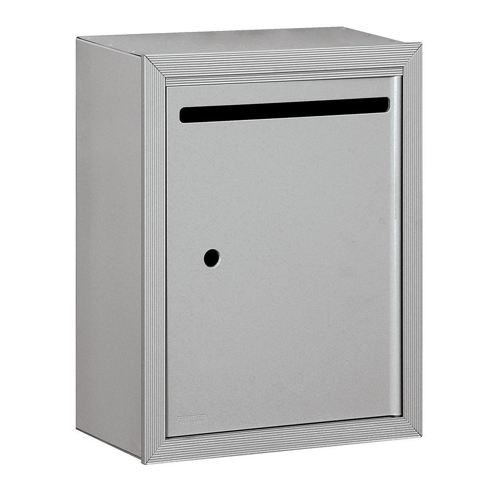 Salsbury Industries 2240 Series Aluminum Standard Surface-Mounted USPS Letter Box