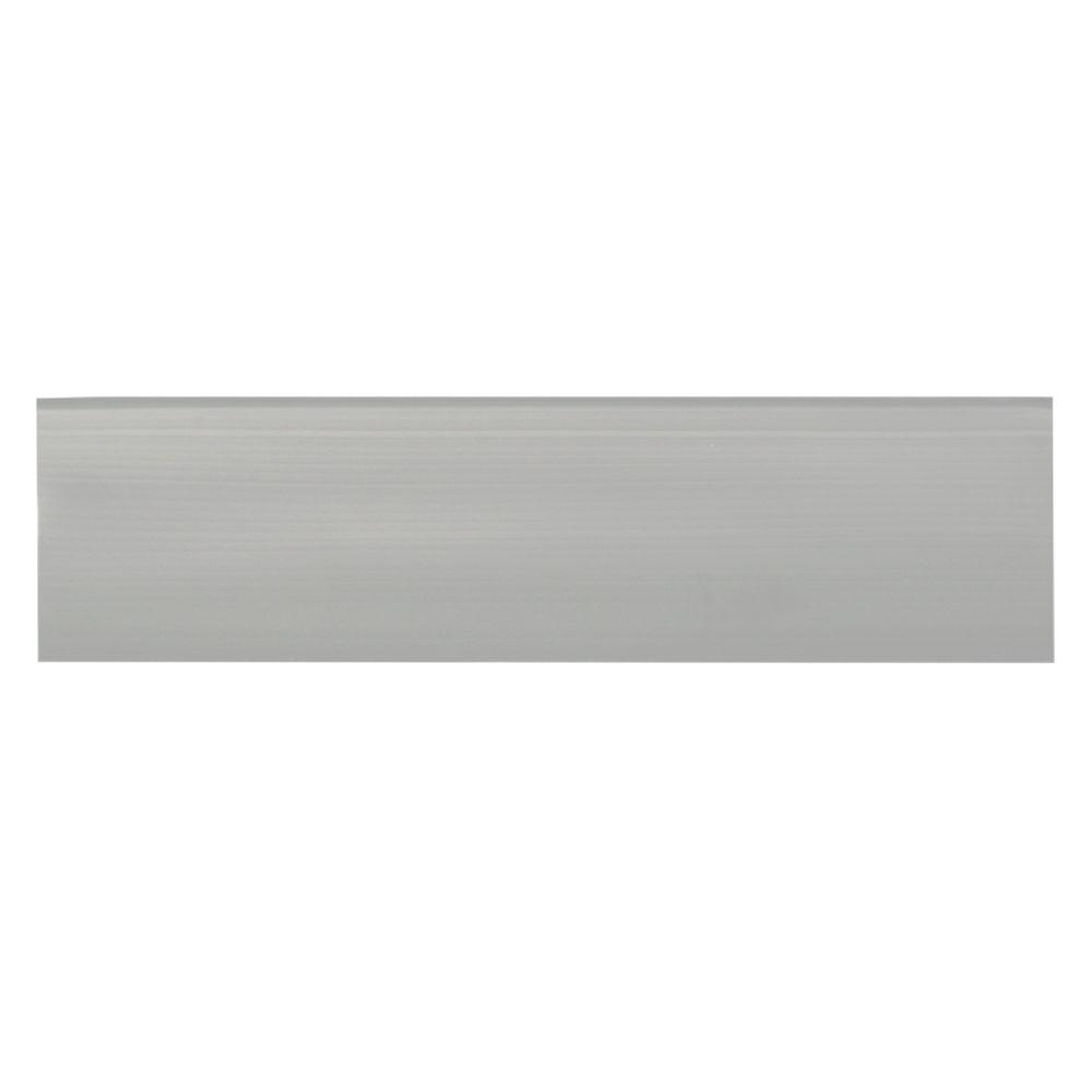 Mohawk Home 8 in. x 24 in. Clear Vinyl Stair Tread - (18-Pack)-DISCONTINUED