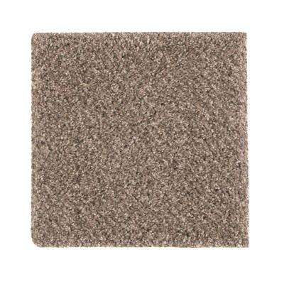 Maisie I - Color Taupe Essence Texture 12 ft. Carpet