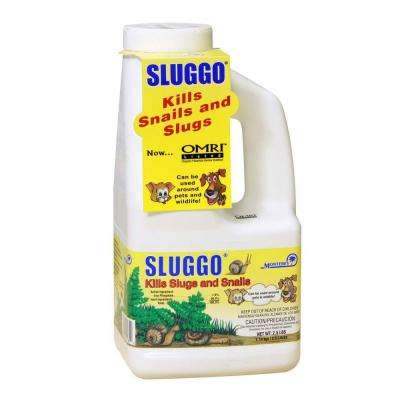 2.5 lb. Sluggo Snail and Slug Control